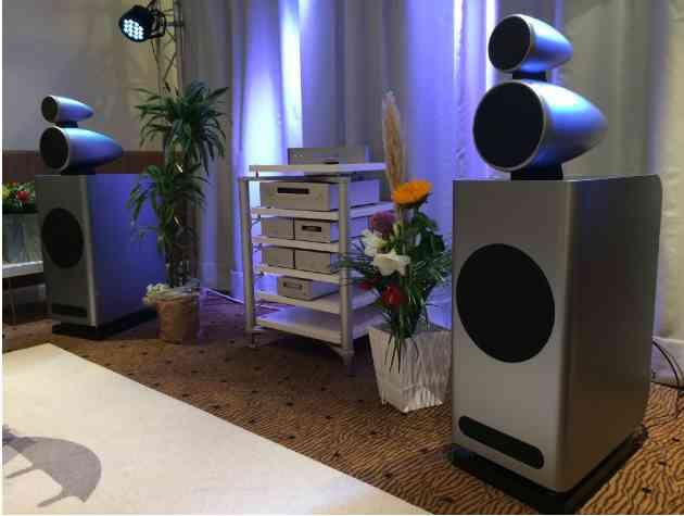 Jean Marie Reynaud ADARA loudspeakers